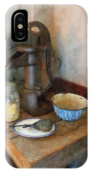 Water Pump In Kitchen IPhone Case
