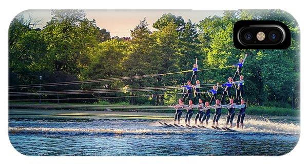 Water Ski iPhone Case - Water Ski Day by Art Spectrum