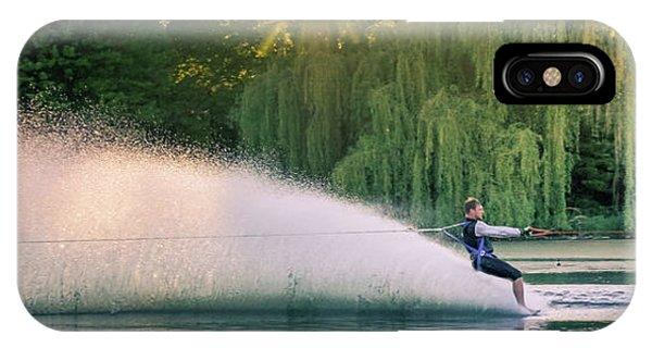 Water Ski iPhone Case - Water Skiing by Art Spectrum