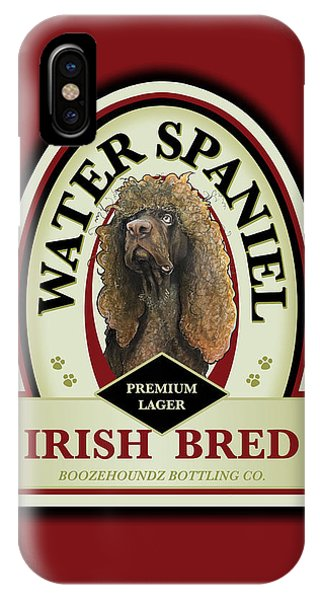 Water Spaniel Irish Bred Premium Lager IPhone Case