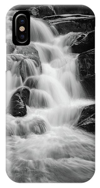 water stair close to the Heinrich Heine hiking way, Harz IPhone Case