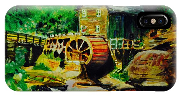 Water Wheel IPhone Case
