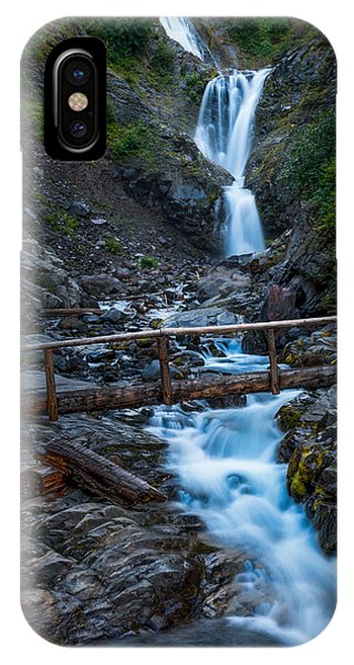 Waterall And Bridge IPhone Case