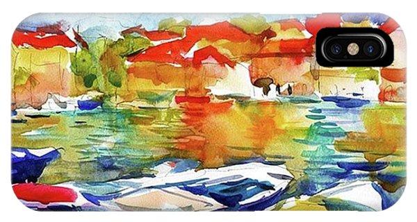 Watercolor Boats By Svetlana Novikova ( IPhone Case