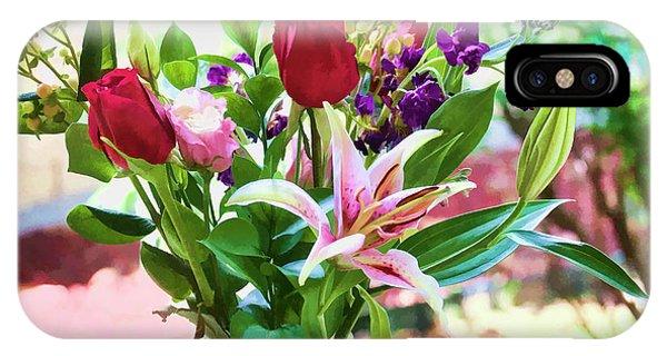 Watercolor Bouquet IPhone Case