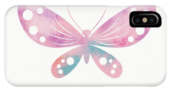 Watercolor iPhone Case - Watercolor Butterfly 1- Art By Linda Woods by Linda Woods