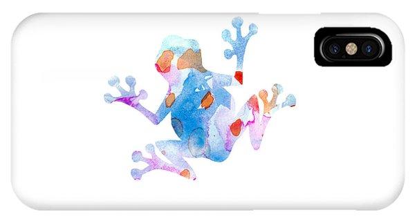 Watercolor Frog IPhone Case