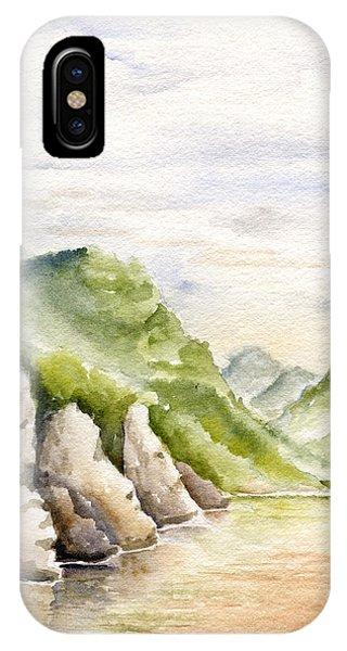 Watercolor Landscape Plein Air IPhone Case