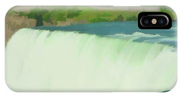 Watercolor Niagara Falls 10 IPhone Case