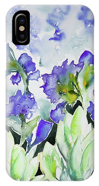 Watercolor - Rocky Mountain Wildflowers IPhone Case