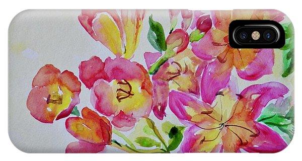 Watercolor Series No. 225 IPhone Case