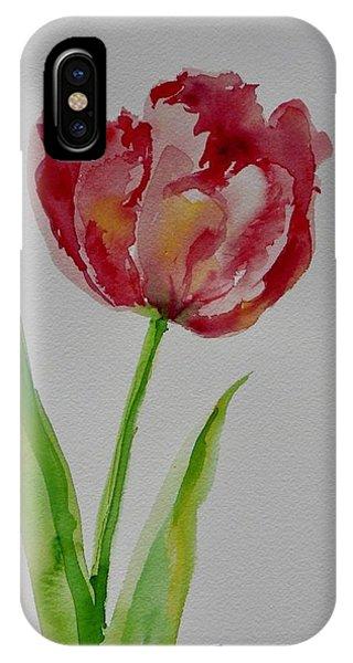 Watercolor Series No.  228 IPhone Case