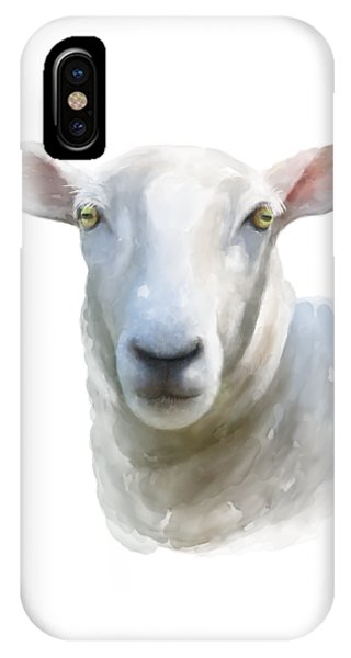 Watercolor Sheep IPhone Case