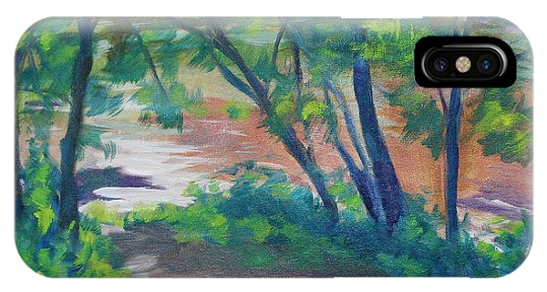 Watercress Beach On The Current River   IPhone Case