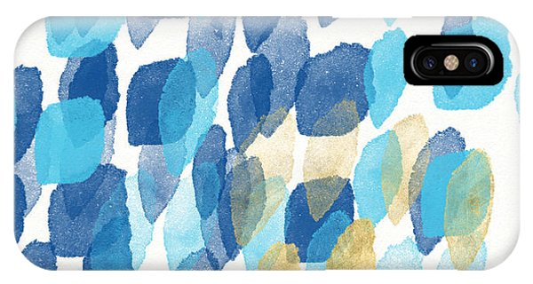 Gallery Wall iPhone Case - Waterfall- Abstract Art By Linda Woods by Linda Woods