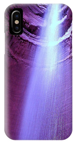 Waterfall At Ruby Falls IPhone Case