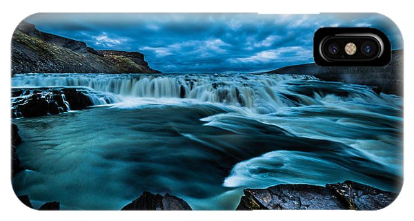 Waterfall Drama IPhone Case