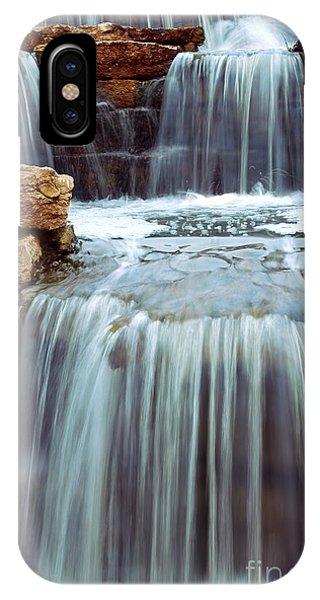 Waterfall iPhone Case - Waterfall by Elena Elisseeva