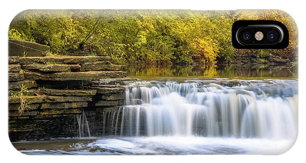 IPhone Case featuring the photograph Waterfall Glen, Lemont, Il by Adam Romanowicz