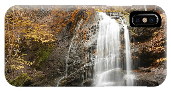 Waterfall In Fundy National Park New Brunswick Canada IPhone Case