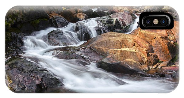 Waterfall In Lee Vining Canyon 2 IPhone Case