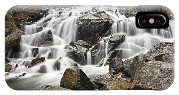Waterfall In Lee Vining Canyon IPhone Case