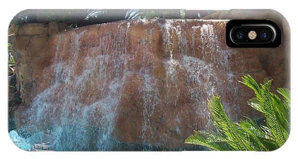 Waterfall Las Vegas Nevada Phone Case by Alan Espasandin