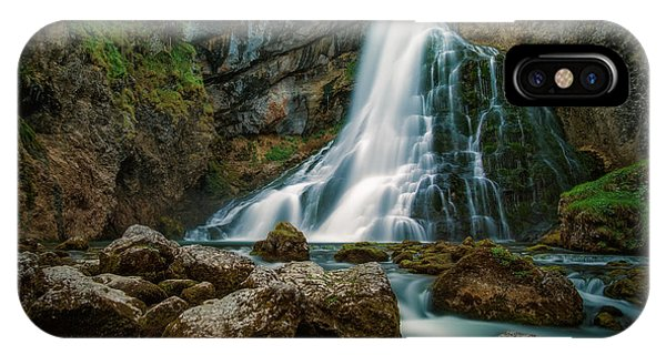 Waterfall iPhone Case - Waterfall by Martin Podt