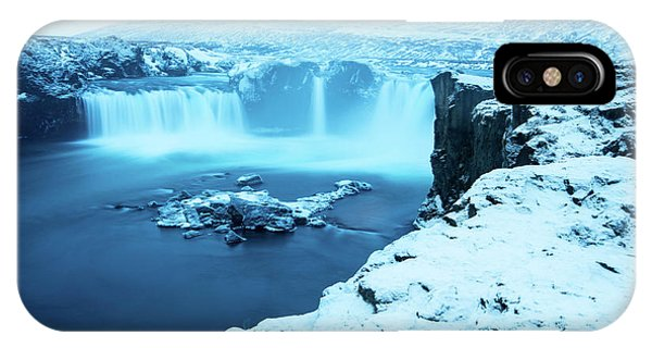 Waterfall iPhone Case - Waterfall Of The Gods by Tyler Soden
