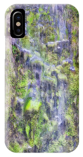 IPhone Case featuring the photograph Waterfall - Okarito Beach - New Zealand by Steven Ralser