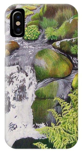 Waterfall On Skye IPhone Case