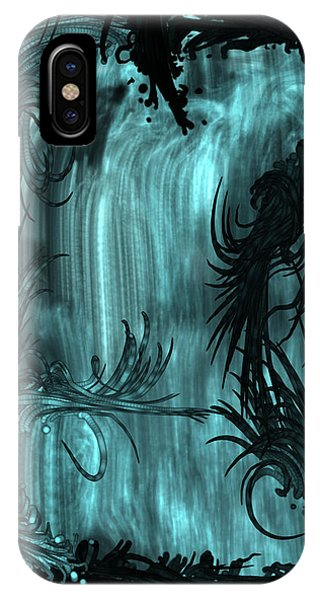 iPhone X Case - Waterfall by Orphelia Aristal
