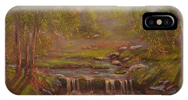 Waterfall Paridise IPhone Case