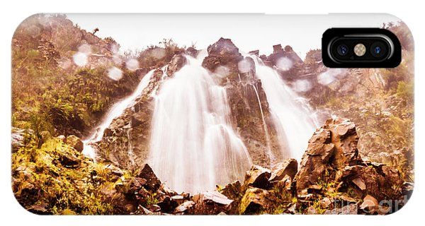Horizontal iPhone Case - Waterfall Scenics  by Jorgo Photography - Wall Art Gallery
