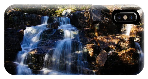 Waterfall, Whitewall Brook IPhone Case