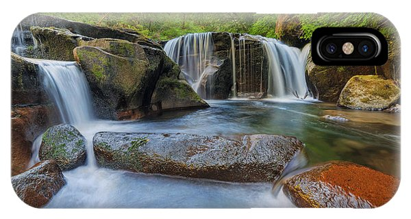 Waterfalls At Sweet Creek Falls Trail IPhone Case