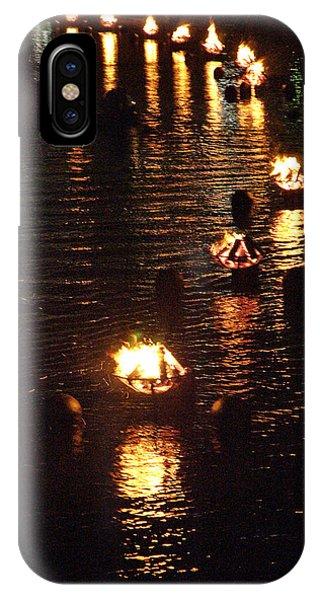 Waterfire Lights IPhone Case