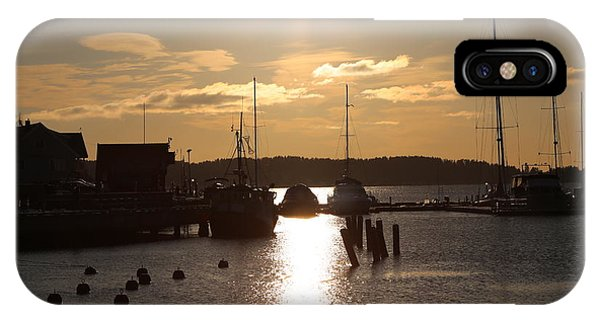 Waterfront, Oslo Fjords, Norway.  IPhone Case