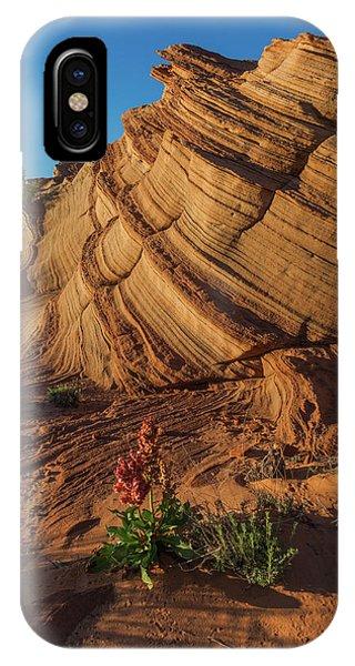 Waterhole Canyon Evening Solitude IPhone Case