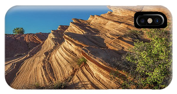 Waterhole Canyon Rock Formation IPhone Case