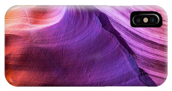 Waterhole Canyon Wave IPhone Case