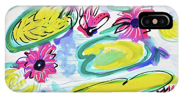 Waterlily iPhone Case - Waterlilies by Amara Dacer