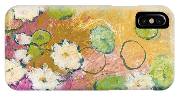 Lilly iPhone Case - Waterlillies At Dusk by Jennifer Lommers