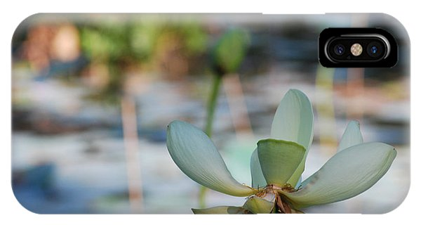 Waterlily Wash Horizontal IPhone Case