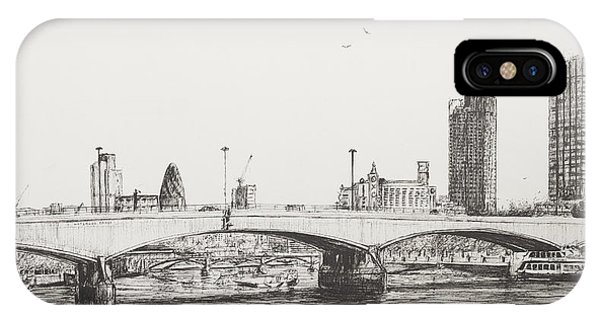 Waterloo Bridge IPhone Case