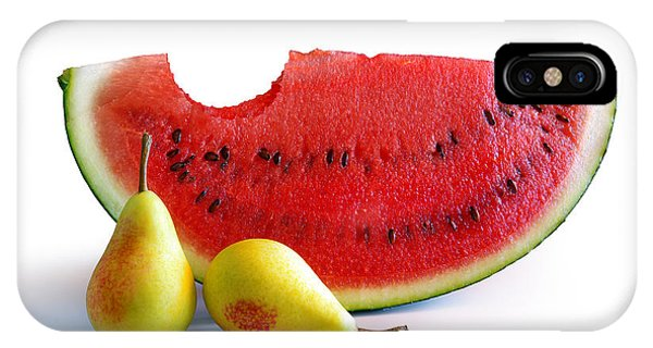 Watermelon And Pears IPhone Case