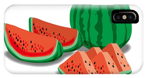 iPhone Case - Watermelon by Moto-hal