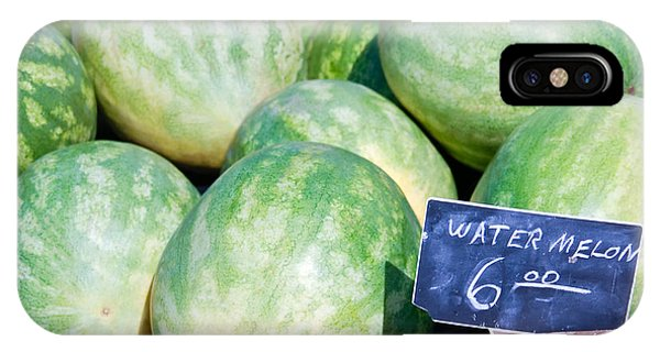 Watermelons With A Price Sign IPhone Case