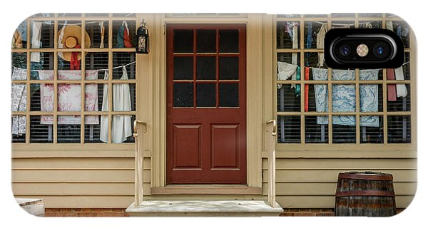 Waters Storehouse Colonial Williamsburg IPhone Case