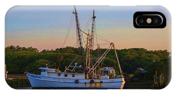 Old Shrimper IPhone Case